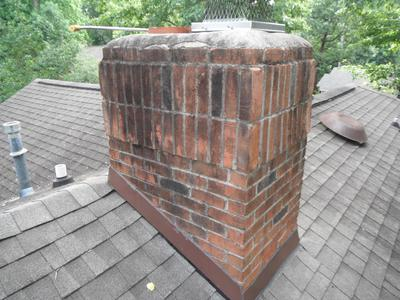 Before Amp After Images All Out Chimney Sweeping Services