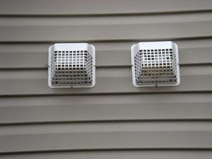 Vent Covers Installed